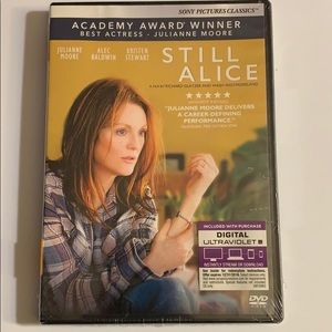 Still Alice dvd w/ Oscar winner Juliane Moore.
